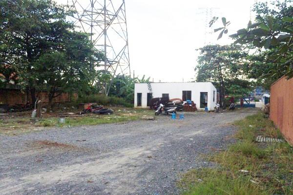 Cho thuê bãi đất trống quận Bình Tân làm garage, bãi đậu xe