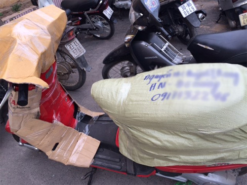 Dịch vụ vận chuyển gửi xe máy từ Sài Gòn ra Hà Nội bằng tàu hỏa