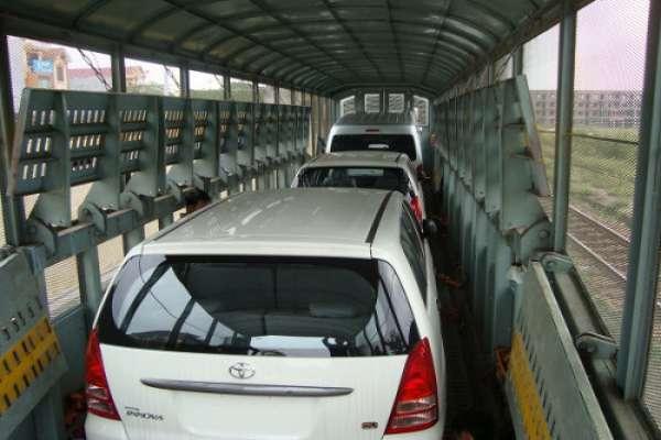 Dịch vụ vận chuyển gửi xe ô tô bằng tàu hỏa