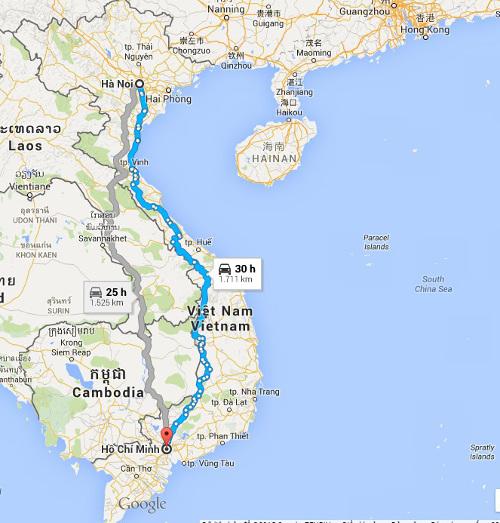 Nhu cầu chuyển phát nhanh từ Hà Nội đi vào Sài Gòn hiện nay rât lớn