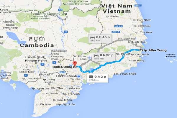 Dịch vụ vận chuyển hàng hóa 2 chiều Nha Trang - Bình Dương