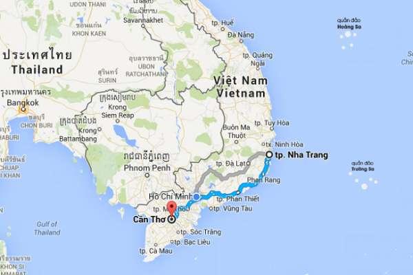 Dịch vụ vận chuyển hàng hóa 2 chiều Nha Trang - Cần Thơ