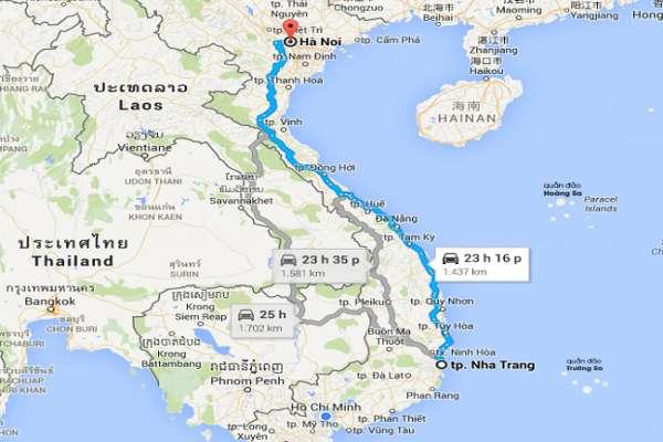 Dịch vụ vận chuyển hàng hóa 2 chiều Hà Nội – Nha Trang