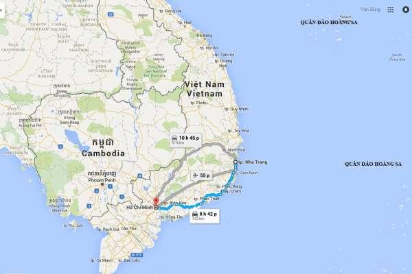 Dịch vụ vận chuyển gửi hàng từ Sài Gòn đi ra Nha Trang