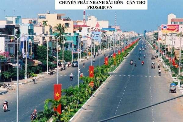 Dịch vụ chuyển phát nhanh từ Sài Gòn đi về Cần Thơ