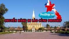 Dịch vụ vận chuyển gửi hàng hóa đi qua Lào