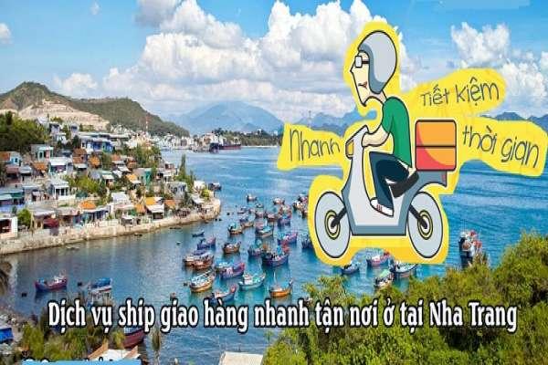 Dịch vụ ship giao hàng nhanh tận nơi ở tại Nha Trang