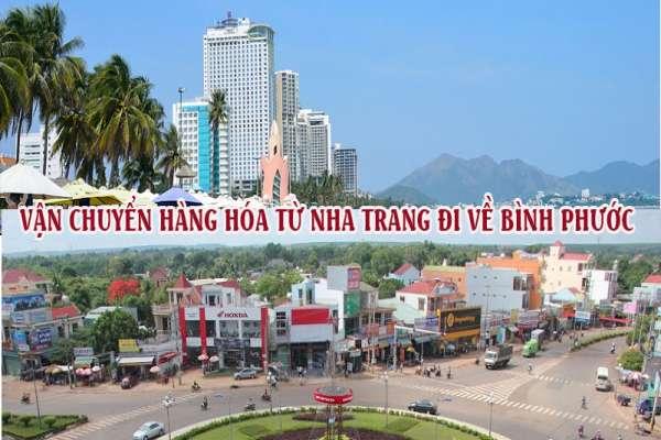 Dịch vụ vận chuyển gửi hàng từ Nha Trang đi Bình Phước