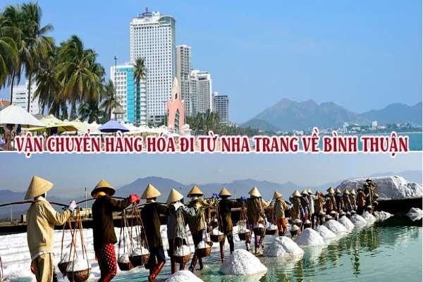 Dịch vụ vận chuyển gửi hàng từ Nha Trang đi Bình Thuận