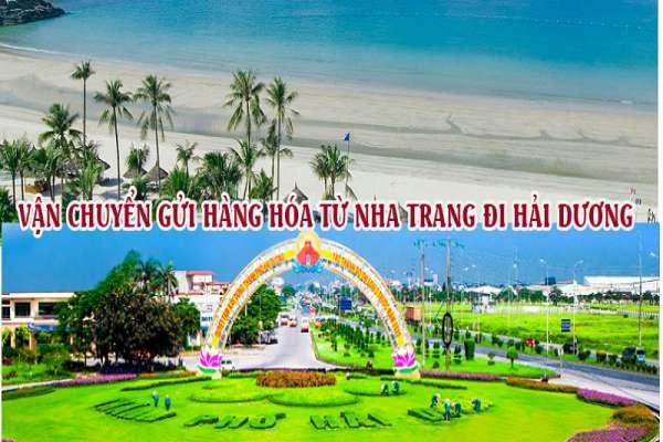 Dịch vụ vận chuyển gửi hàng từ Nha Trang đi Hải Dương