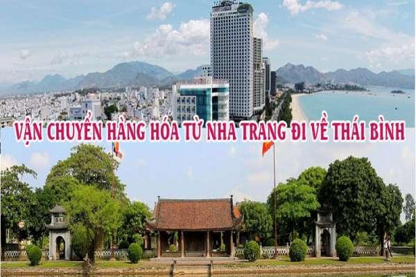 Dịch vụ vận chuyển gửi hàng từ Nha Trang đi Thái Bình