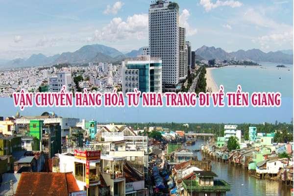 Dịch vụ vận chuyển gửi hàng từ Nha Trang đi Tiền Giang