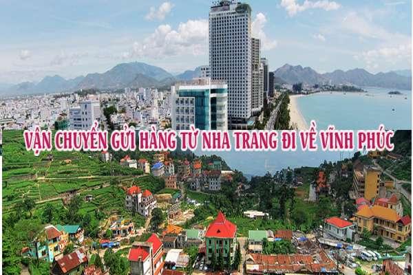 Dịch vụ vận chuyển gửi hàng từ Nha Trang đi Vĩnh Phúc