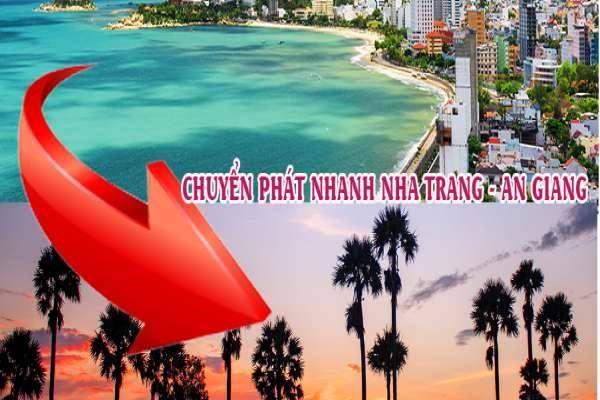 Dịch vụ chuyển phát nhanh từ Nha Trang đi An Giang