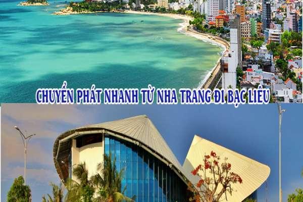 Dịch vụ chuyển phát nhanh từ Nha Trang đi Bạc Liêu