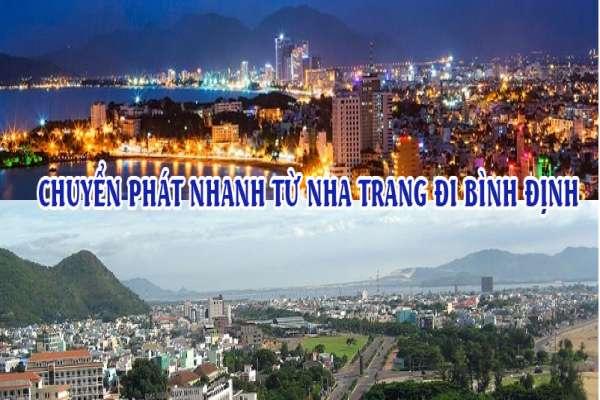 Dịch vụ chuyển phát nhanh từ Nha Trang đi Bình Định