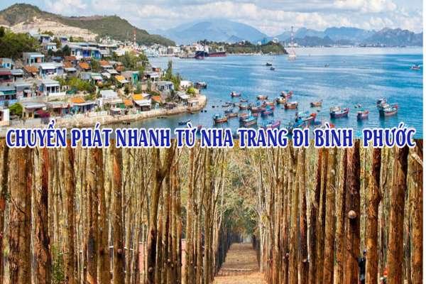 Dịch vụ chuyển phát nhanh từ Nha Trang đi Bình Phước