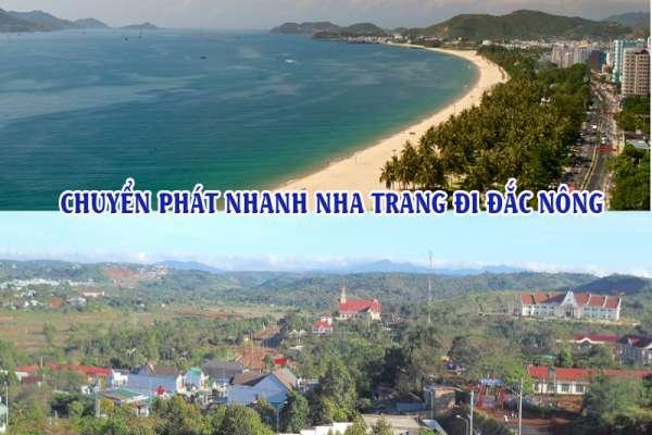 Dịch vụ chuyển phát nhanh từ Nha Trang đi Đắk Nông