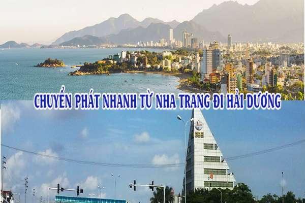 Dịch vụ chuyển phát nhanh từ Nha Trang đi Hải Dương