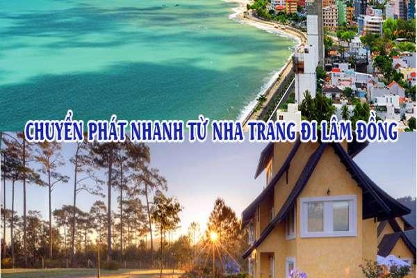 Dịch vụ chuyển phát nhanh từ Nha Trang đi Lâm Đồng