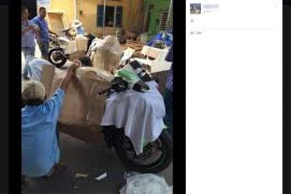 Nhận vận chuyển gửi xe máy từ Hà Nội đi vào Đà Nẵng