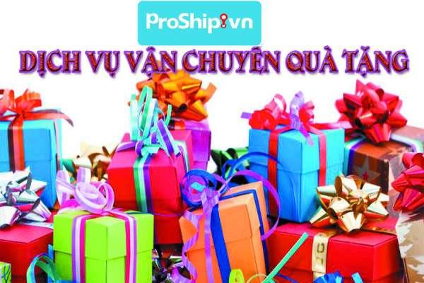 Dịch vụ gửi, vận chuyển, chuyển phát nhanh quà tặng