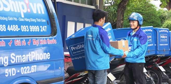 Dịch vụ chuyển phát nhanh trong nước của Proship