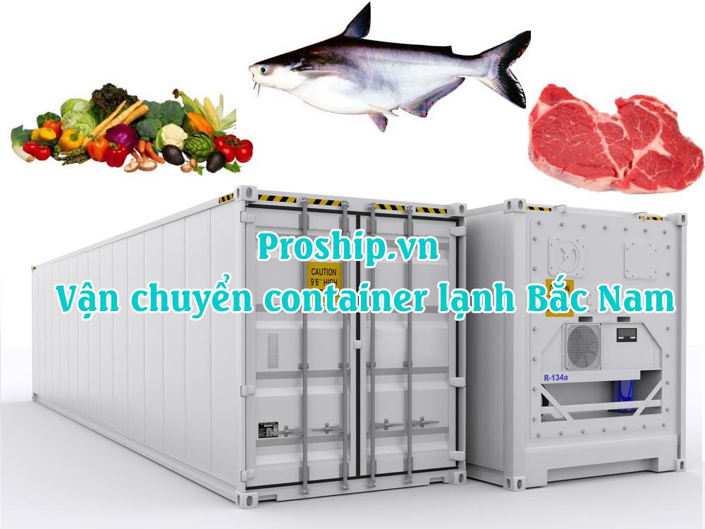 van chuyen container lanh bac nam