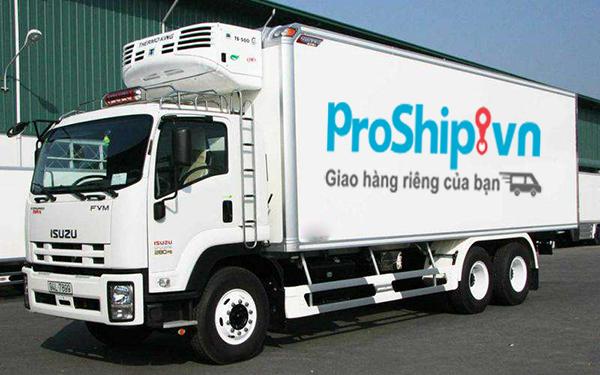 proship van chuyen hang hoa bang container