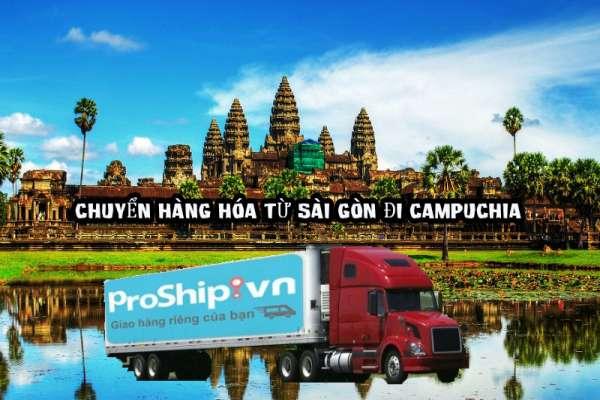 Quy định vận chuyển hàng hóa đi Campuchia của Proship