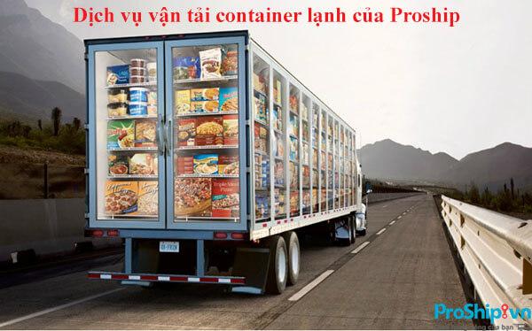 don vi co xe container lanh chuyen dung