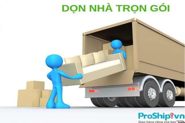 Dịch vụ chuyển nhà trọn gói từ Nam ra Bắc bằng container