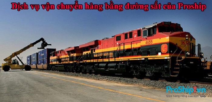 dịch vụ vận chuyển hàng hóa bằng đường sắt Bắc Nam