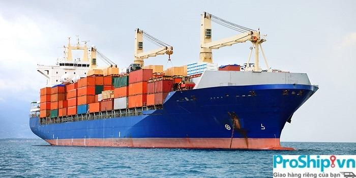 Proship nhận vận chuyển hàng đường biển nội địa