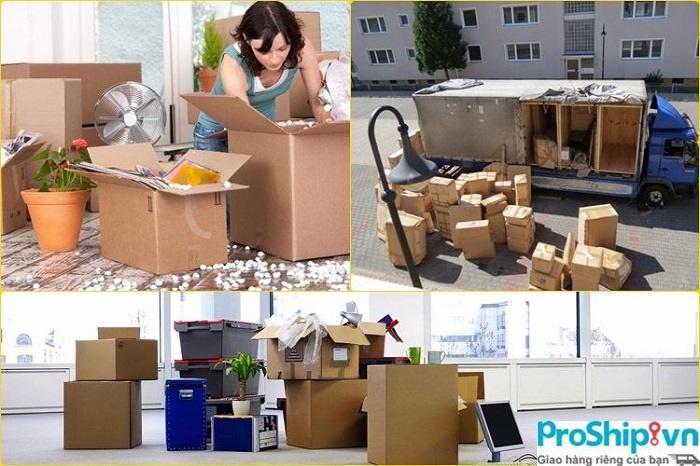 Dịch vụ chuyển nhà trọn gói Nam Bắc Proship