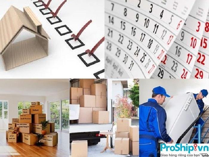 Proship nhận chuyển nhà trọn gói từ Nam ra Bắc