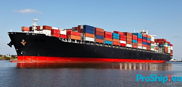 quy trình vận chuyển hàng đường biển của Proship