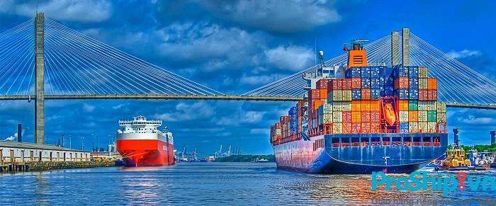 Proship.vn và quy trình vận chuyển hàng hóa bằng đường biển