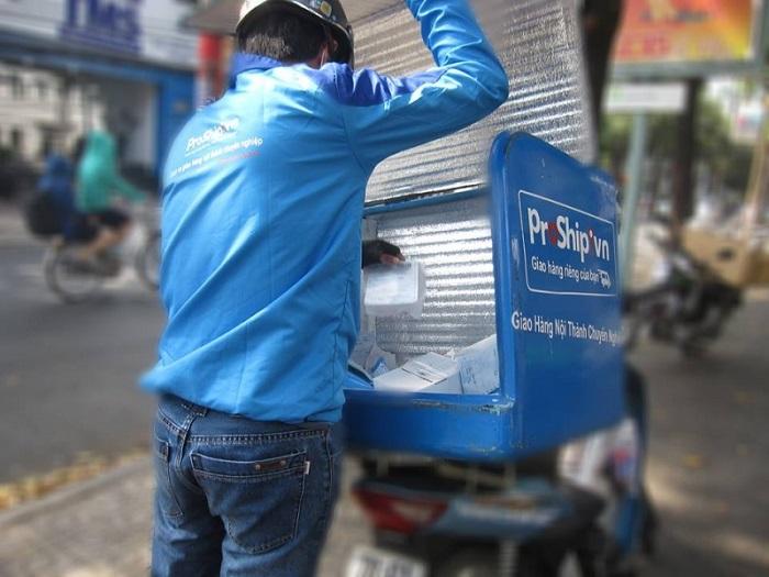 Dịch vụ chuyển phát nhanh từ Sài Gòn ra Hà Nội của Proship.vn