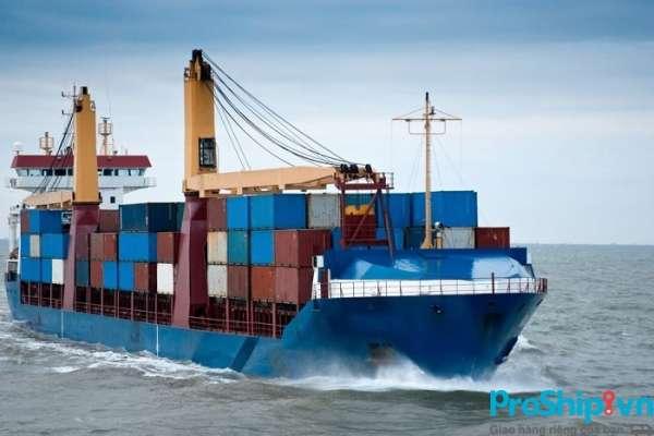 Các loại hàng hóa phù hợp vận chuyển bằng đường biển