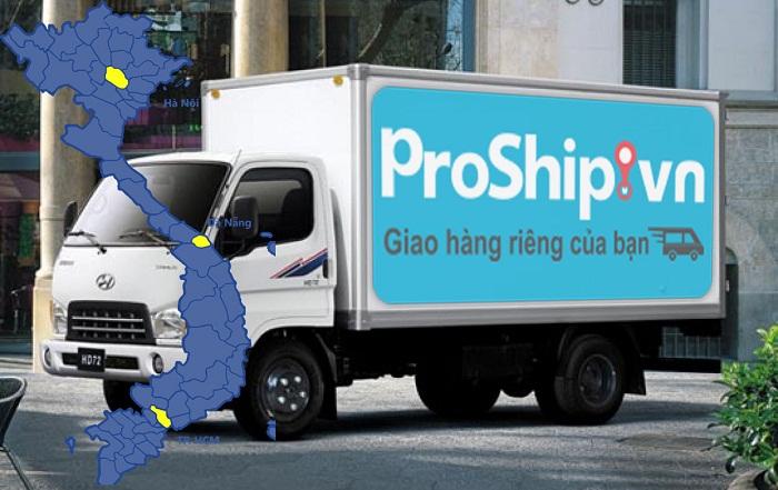 Dịch vụ chuyển phát nhanh Hà Nội-Sài Gòn của Proship