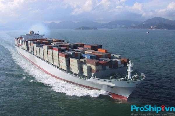 Thời gian vận chuyển hàng hóa bằng đường biển từ Nam ra Bắc