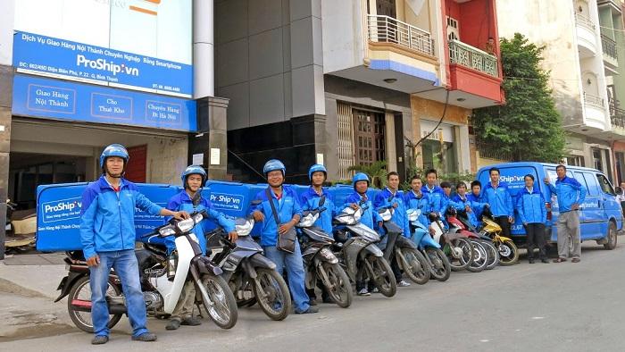 Công ty Proship nhận vận chuyển hàng hóa nội địa