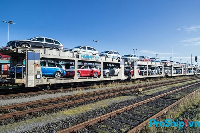 Dịch vụ nhận vận chuyển xe ô tô bằng đường sắt Bắc Nam