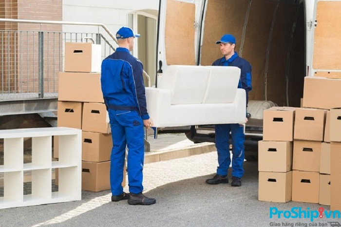 Dịch vụ chuyển nhà liên tỉnh trọn gói uy tín của Proship