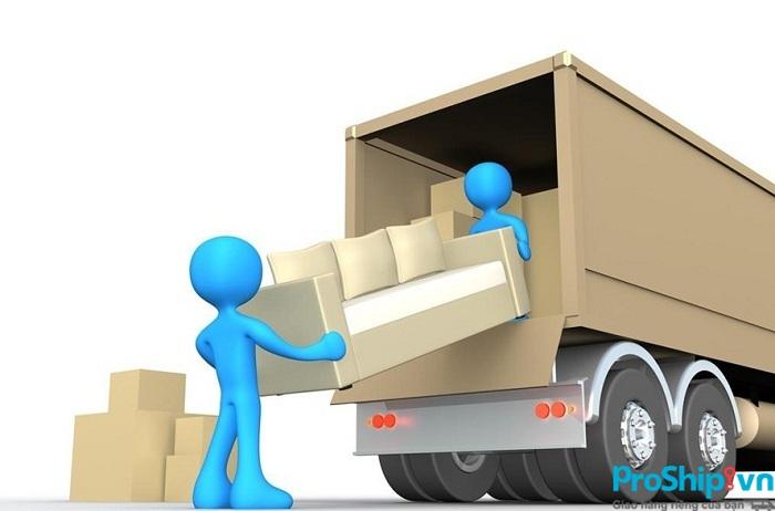 Dịch vụ chuyển nhà liên tỉnh trọn gói giá rẻ của Proship