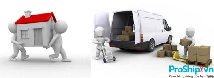 Dịch vụ chuyển nhà liên tỉnh trọn gói tốt nhất của Proship