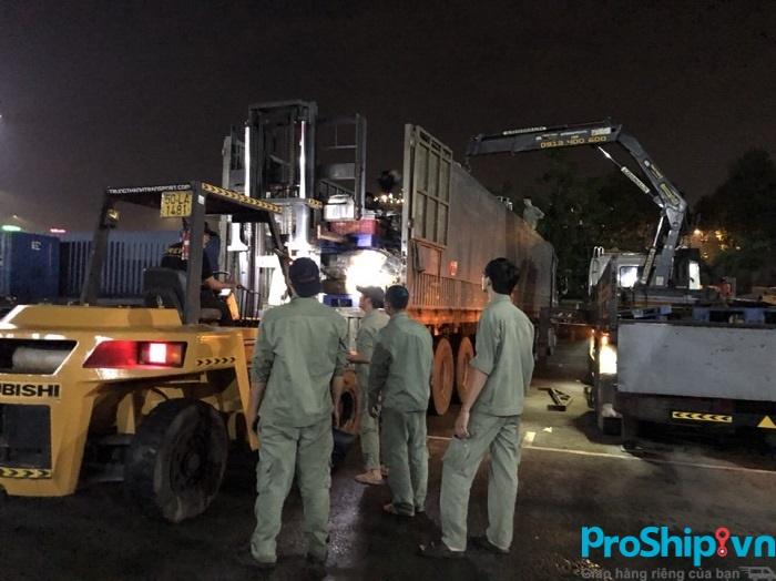 Dịch vụ di dời vận chuyển nhà máy, nhà kho, nhà xưởng của Proship.vn
