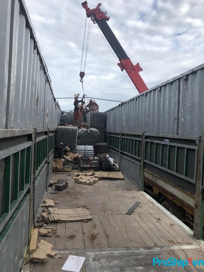 Dịch vụ vận chuyển sắt thép, thép cuộn Bắc Nam của Proship