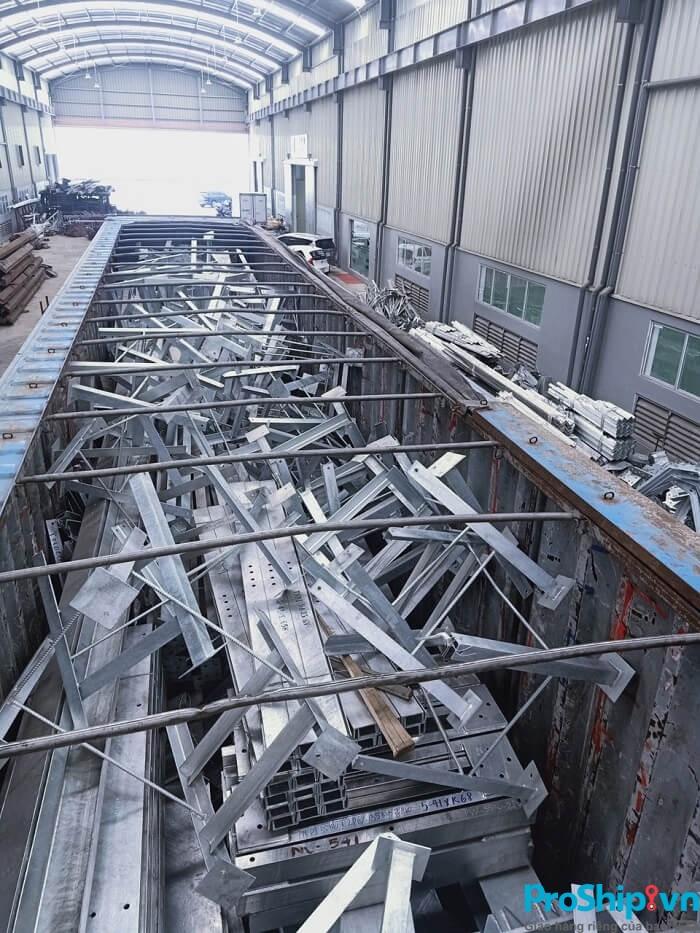 Dịch vụ vận chuyển sắt thép, thép cuộn uy tín của Proship.vn